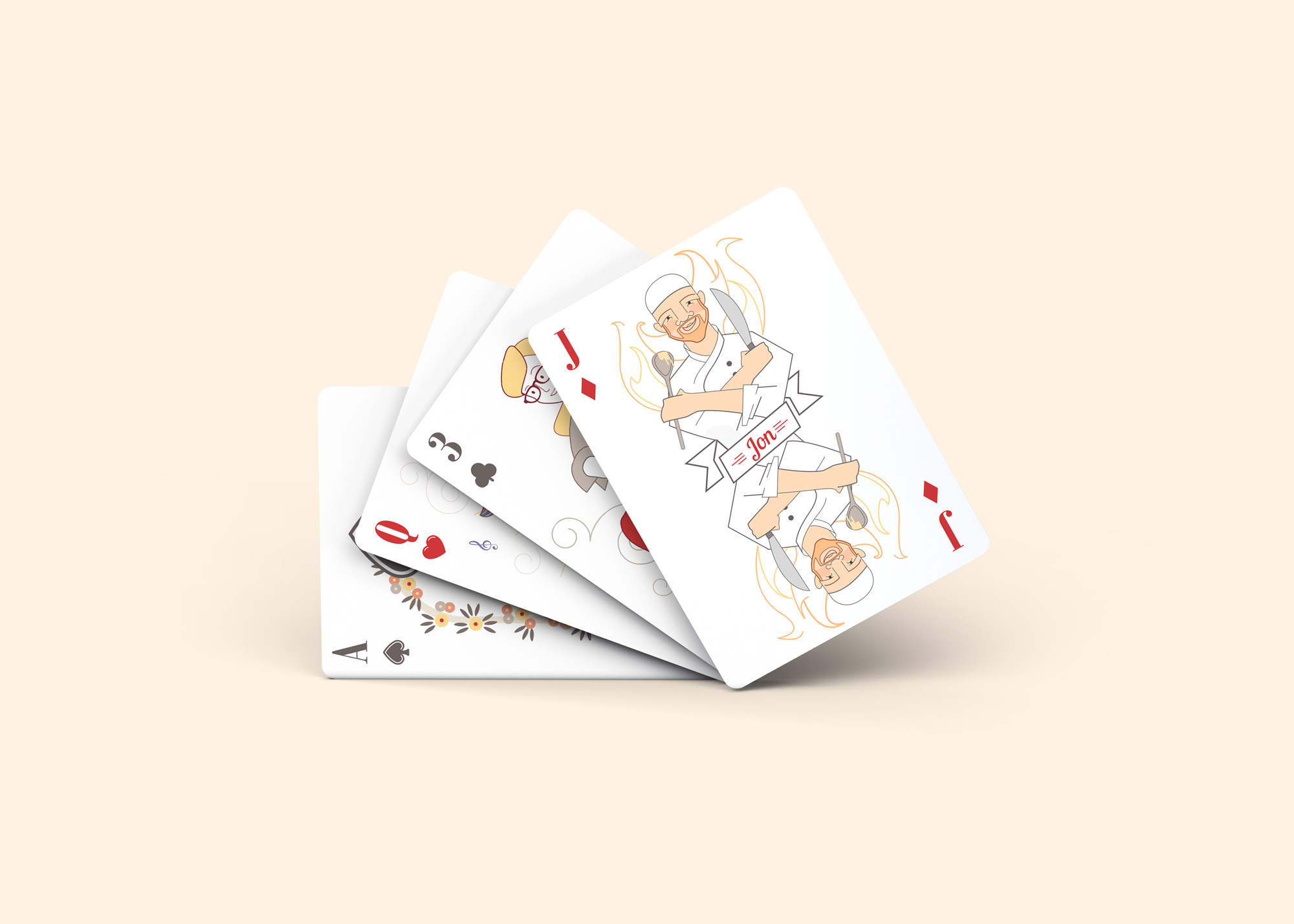 Cliffsley Playing Cards