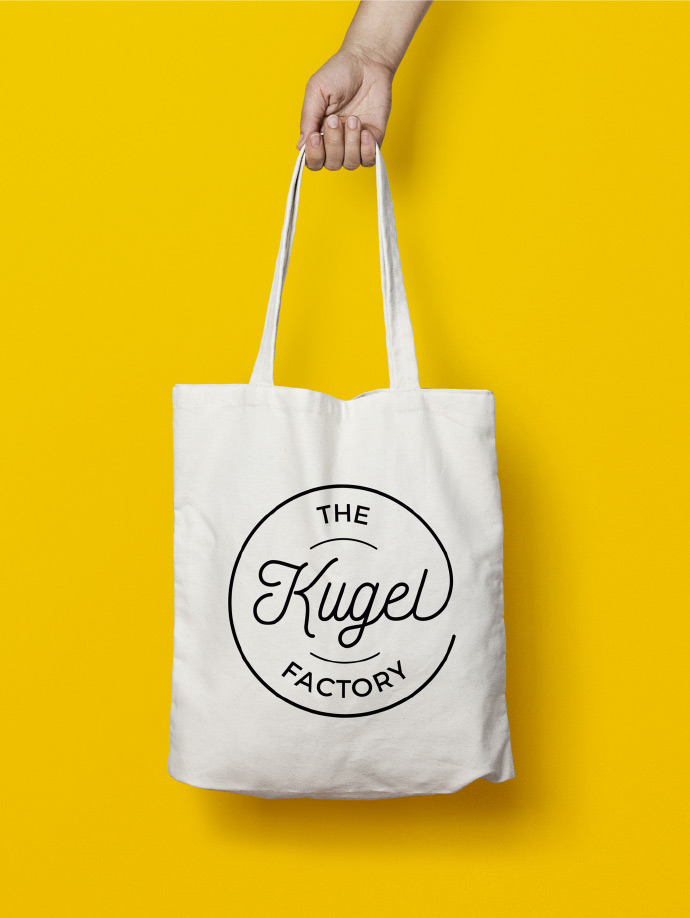 The Kugel Factory Card Bag